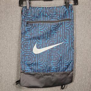 🔥 Nike Drawstring Bag - Blue and Black